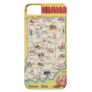 Greeting from Indiana vintage Iphone 5 case