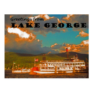 Greeting from Lake George Postcard