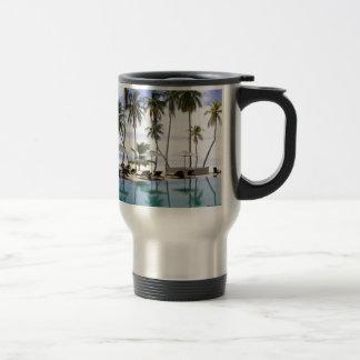 Greeting from Maldives Travel Mug
