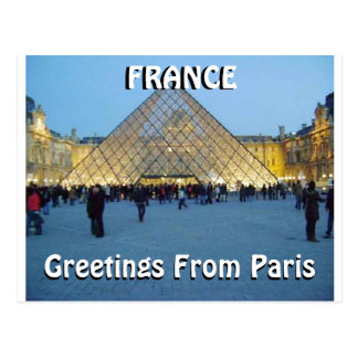 GREETING FROM PARIS (Mojisola A Gbadamosi) Postcard