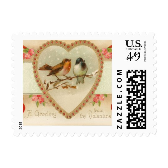 Greeting from Thy Valentine Stamp