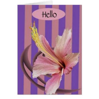 greeting, Hello Card
