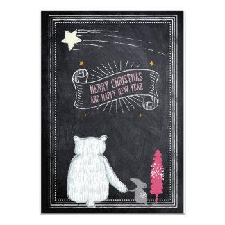 Greeting map Christmas Card