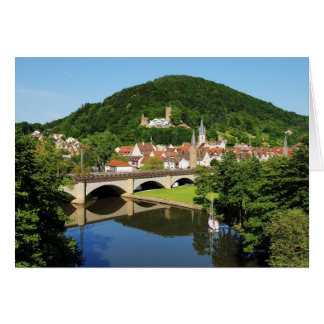 Greeting map Gemünden A. Main Card