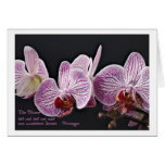 Greeting map orchid cards