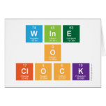 Wine o clock  Greeting/note cards