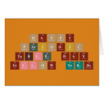 Happy  Periodic  Table Day Fellow Nerds  Greeting/note cards