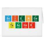 Science Teacher  Greeting/note cards
