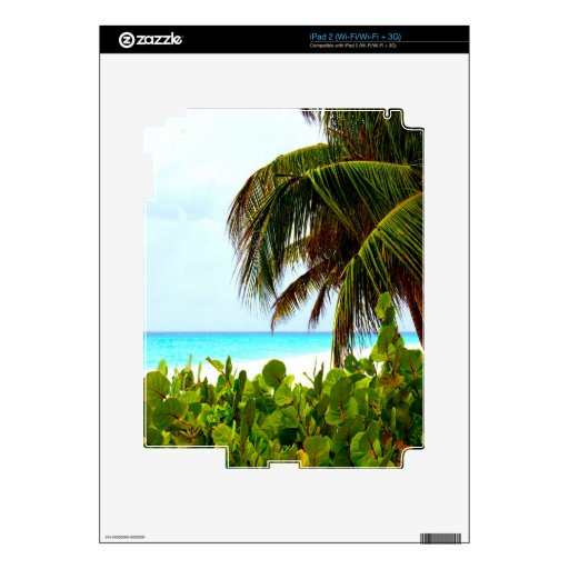 Greeting to the open world beach and ocean skins for iPad 2