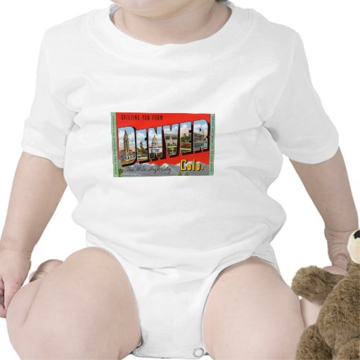 Greeting You from Denver Colordao Tee Shirt