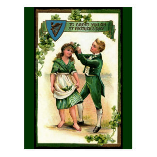 Greeting You on St Paddy's Day Postcard