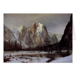 Greetingcard con la pintura de Albert Bierstadt Felicitación