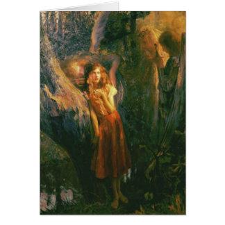 Greetingcard con la pintura de Gastón Bussiere Tarjeta De Felicitación