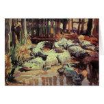 Greetingcard con la pintura de John Singer Sargent