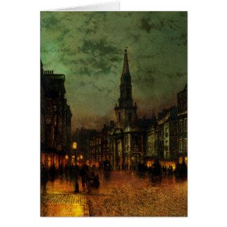 Greetingcard con la pintura de Juan Atkins Tarjeta De Felicitación