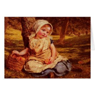 Greetingcard con la pintura de Sophie G. Anderson Tarjeta De Felicitación