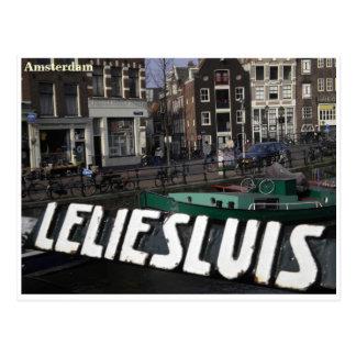 Greetingcard de Amsterdam Postal