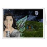 greetingcard de la tierra del faerie