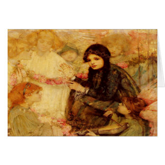 Greetingcard With Christabel A. Cockerell Painting Card