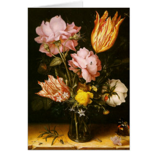 Greetingcard With Christoffel vd Berghe Painting Greeting Cards