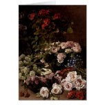 Greetingcard With Claude Monet Painting Card