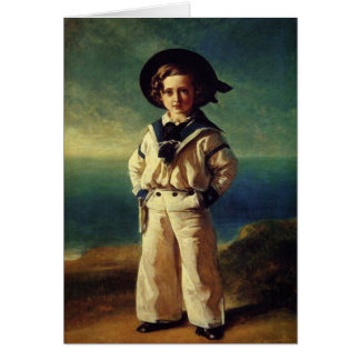 Greetingcard With Franz Winterhalter Painting Card