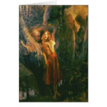 Greetingcard With Gaston Bussiere Painting Greeting Card