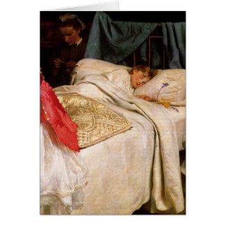Greetingcard With John Everett Millais Painting Card