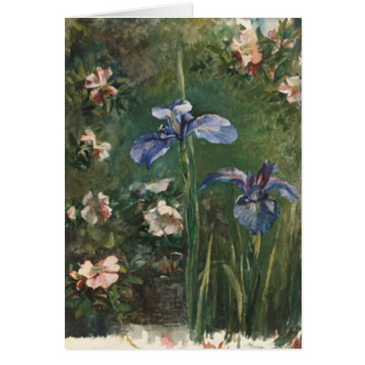 Greetingcard With John LaFarge Painting Cards