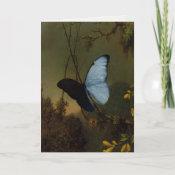 Greetingcard With Martin Johnson Heade Painting card