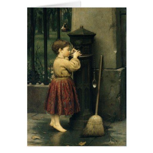 Greetingcard With Seymour Joseph Guy Painting Card