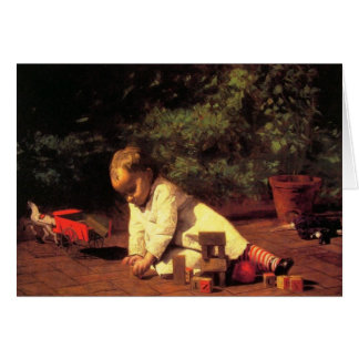 Greetingcard With Thomas Eakins Painting Card