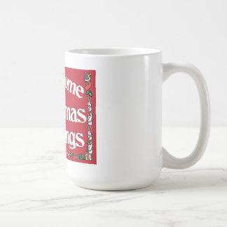 GreetingRectangle Coffee Mugs