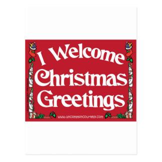 GreetingRectangle Post Card
