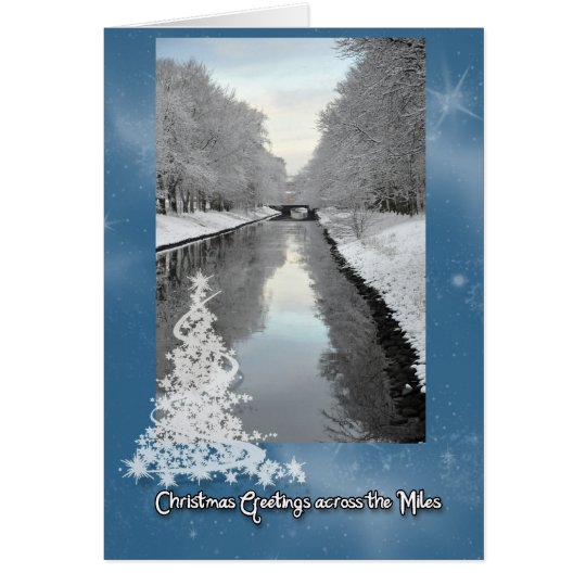 Greetings across the Miles Card