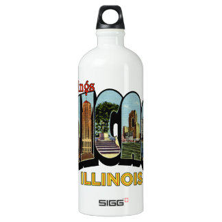 Greetings Aluminum Water Bottle