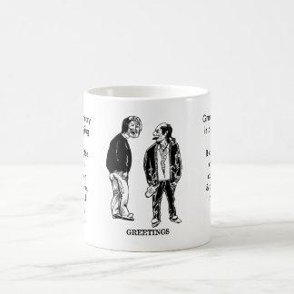 Greetings - Beggar Mug