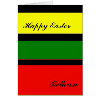 Greetings Bethren Card