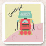 Greetings! Beverage Coasters