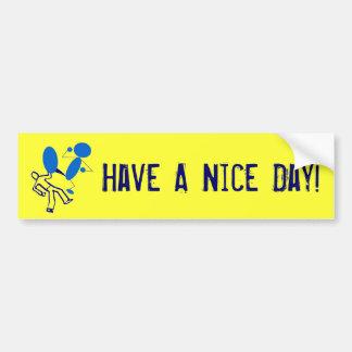 Greetings Bumper Sticker