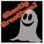 ¡Greetings~ fantasmal! Fantasma lindo del dibujo a Escultura Fotografica