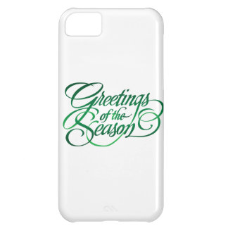 Greetings for the Season - Green iPhone 5C Cover