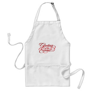 Greetings for the Season - Red Aprons