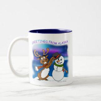 """Greetings from Alaska"" Mug"