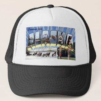 Greetings From Alaska Trucker Hat