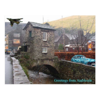 Greetings from Ambleside Postcard