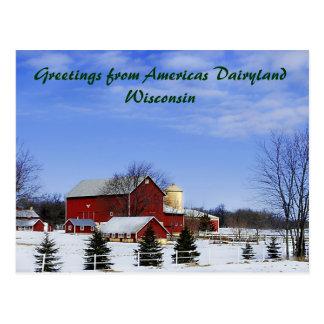 Greetings from Americas Dairyland... Postcards