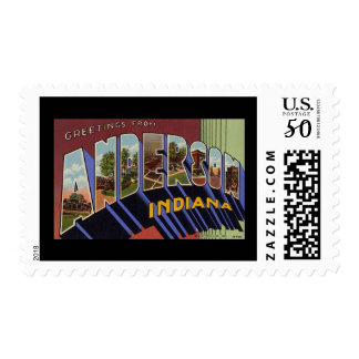 Greetings from Anderson Indiana Postage