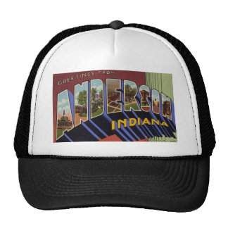 Greetings from Anderson Indiana Trucker Hat