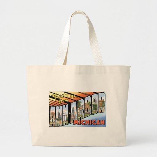 Greetings from Ann Arbor, Michigan! Bag